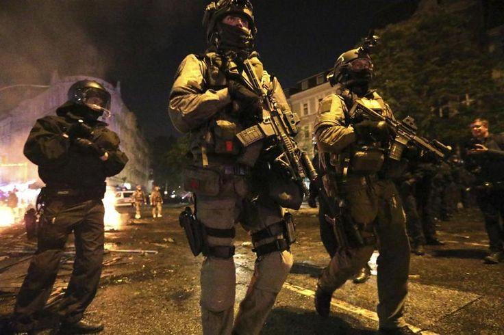 Police Special Forces G20 2017 Hamburg, Germany.  #SEK #Cobra #Police #SpecialForces #Polizei #Germany #Austria #Hamburg #G20