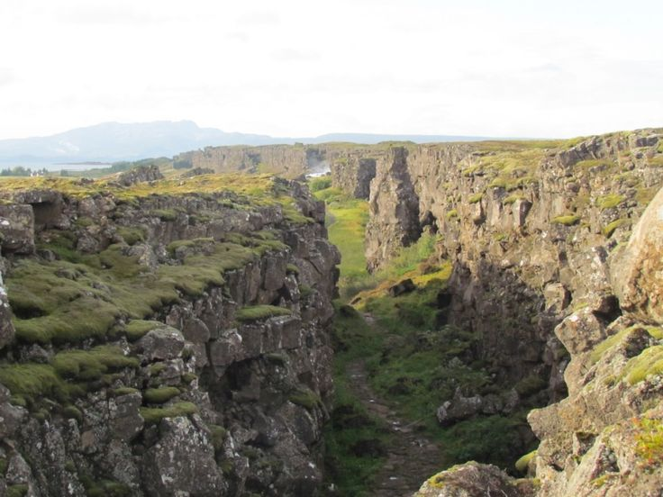 Game of Thrones Locations: Þingvellir, Iceland (Path to the Eyrie and Arya's and Sandor Clegane's journey)