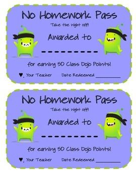 CLASS DOJO REWARD MENU AND AWARD CERTIFICATE PACK - This is a great way to reward students without buying anything.                                                                                                                                                     More