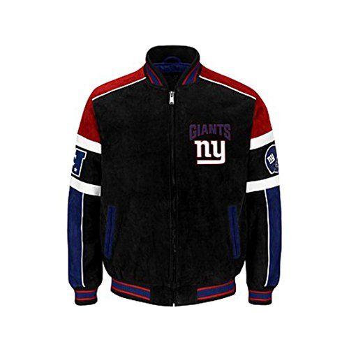 New York Giants Leather Jackets