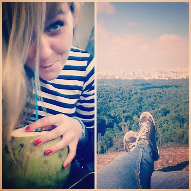Nicole na wolontariacie w Brazylii.