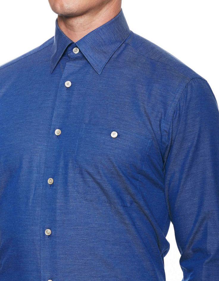 Ike Behar —Luke Cotton Broken Twill Sportshirt on daiiily.com (until 03/22/2015 on Gilt)