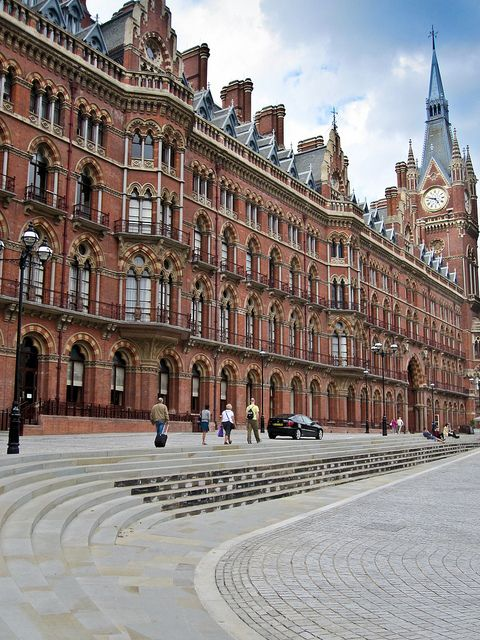 The (Former) Midland Grand Hotel - St Pancras Station, London.  Will forever be the station nearest to where I found my wedding dress :)