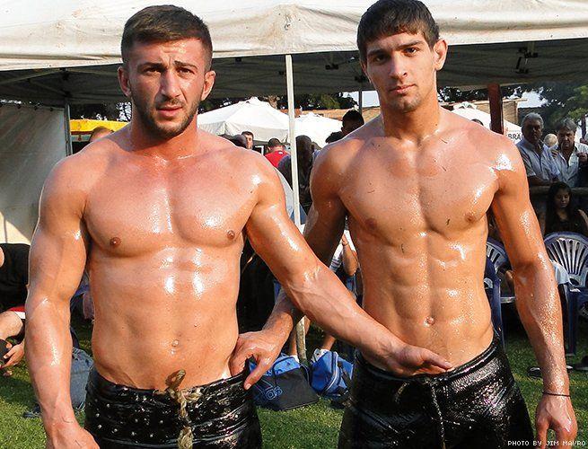 Turkish Oil Wrestling: Inside the Male Bonding of the Sport | Outtraveler