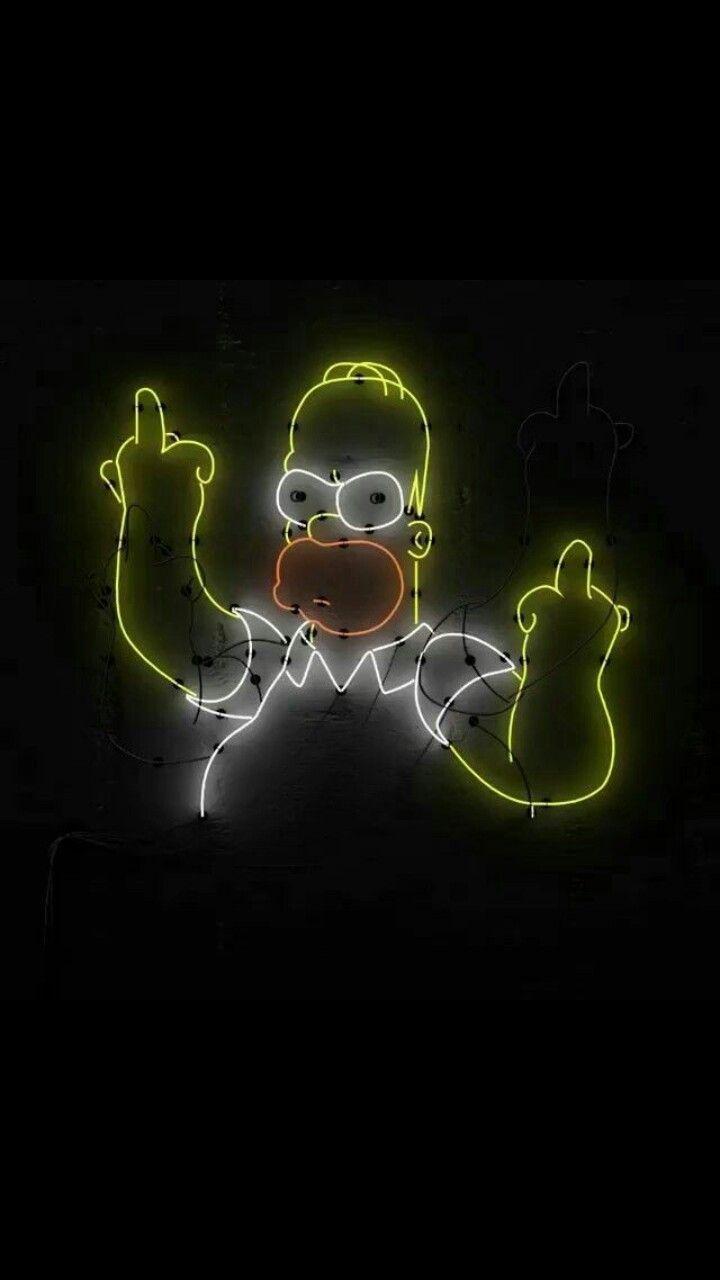The Simpsons Homer Simpson Com Imagens Papel De Parede Do