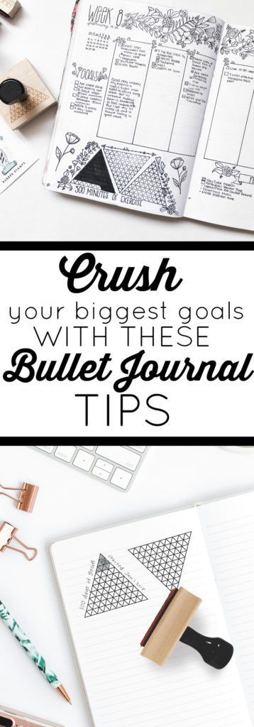 How to Set and Crush Your Biggest Goals in Your Bullet Journal (scheduled via http://www.tailwindapp.com?utm_source=pinterest&utm_medium=twpin)