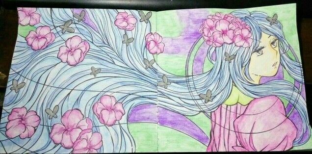 #coloringbookforadults #wanderingcolors #tabrakwarna #colorful #beautifulcolor #95