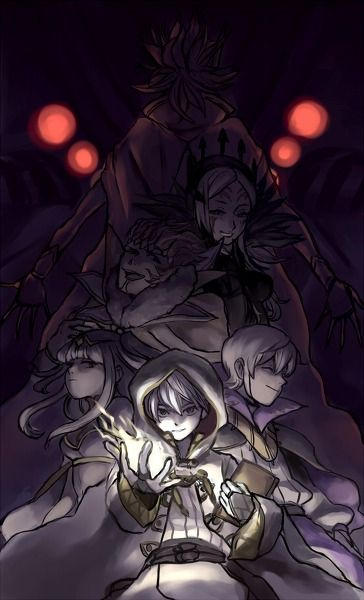 Fire Emblem: Awakening - Grima, Validar, Aversa, Gangrel, Tharja, Robin, and Henry
