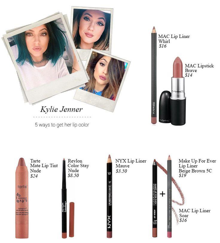 kylie jenner lipstick color dupes | ways to get Kylie Jenner's lip color