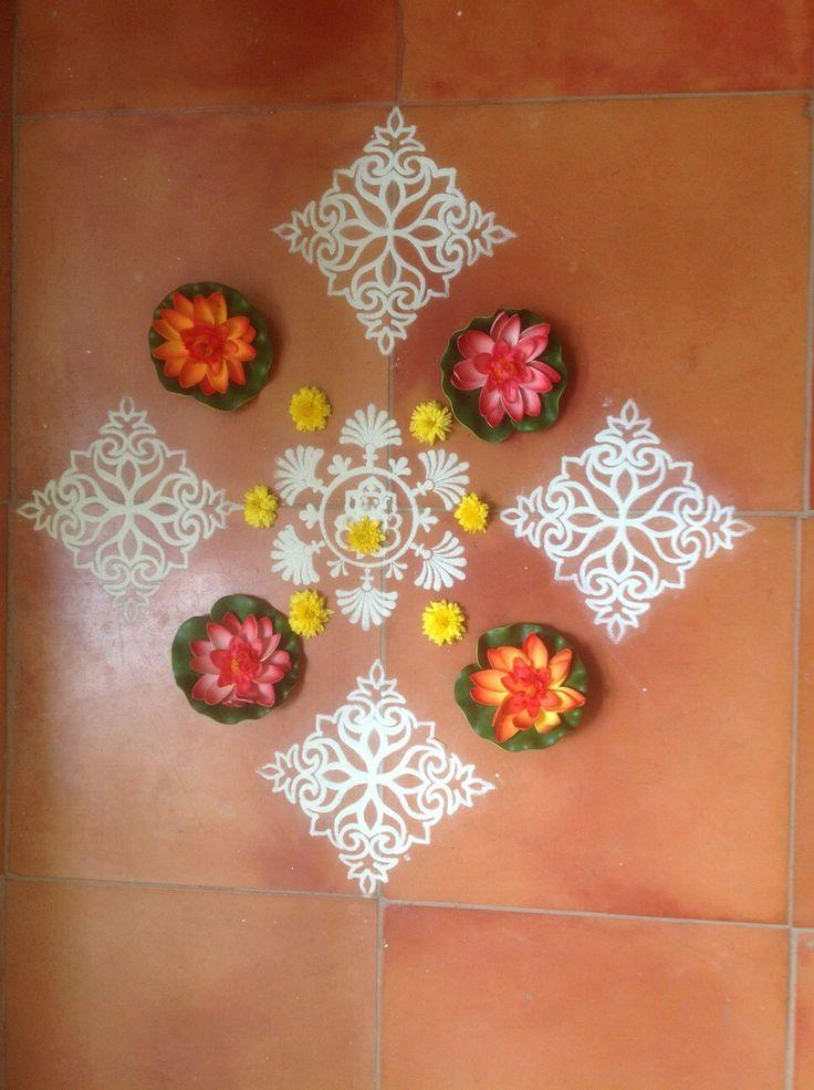 My home: pongal 2013 rangoli