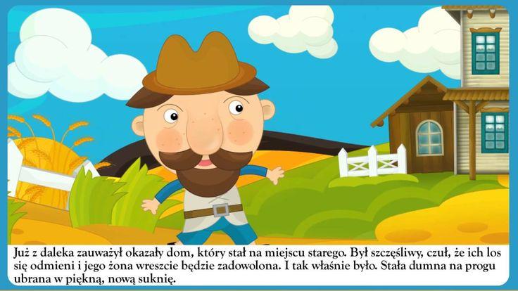 Złota rybka - bajka dla dzieci - Czytanka PL