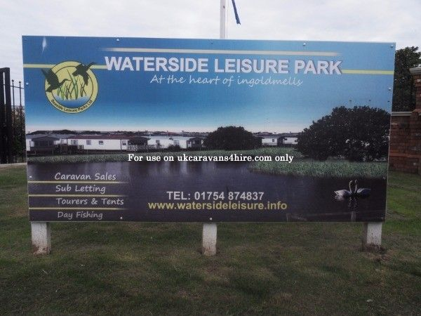 **WATERSIDE LEISURE PARK, INGOLDMELLS, SKEGNESS** *Lots of choice *100 meters from the beach *10 minute walk to fantasy island *2 Fishing lakes *10 minutes bus ride to skegness There are many private caravans for hire on Lakeside Leisure Park, Ingoldmells. A large 100 acre park, it is peaceful and quiet; and Situated just 100 meters away from the beach, its the perfect place to have your holiday. There are many nearby attractions including; Hardy's Animal Farm, Hunstanton SEA LIFE sanctuary.