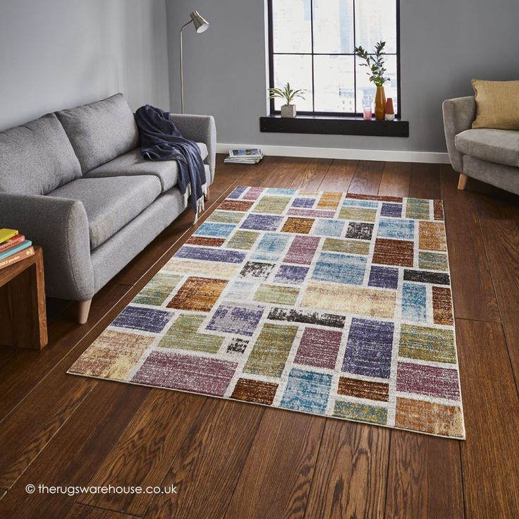 NEW: Serca Rug, a modern versatile & easy to maintain synthetic rug with a colourful geometric design (machine-woven, 100% polypropylene, 3 sizes) http://www.therugswarehouse.co.uk/modern-rugs3/sixteenth-avenue-rugs/serca-rug.html