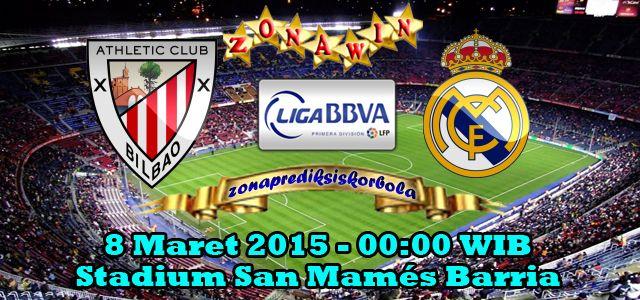Prediksi Athletic Bilbao vs Real Madrid, Ajang liga Spanyol pekan 26 akan mempertemukan Athletic Bilbao yang akan menghadapi Real Madrid
