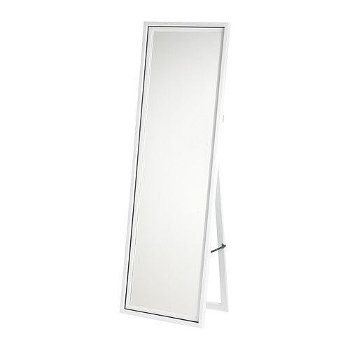 HARRAN Miroir sur pied IKEA Miroir avec pellicule anti-éclats au dos.