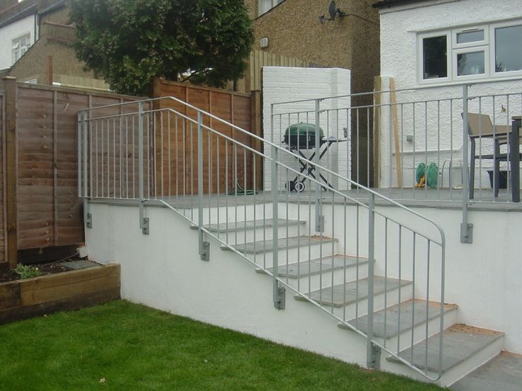 Terrace Stair Balustrades Are An Ideal Solution For External Stairs At The  Front, Side Or