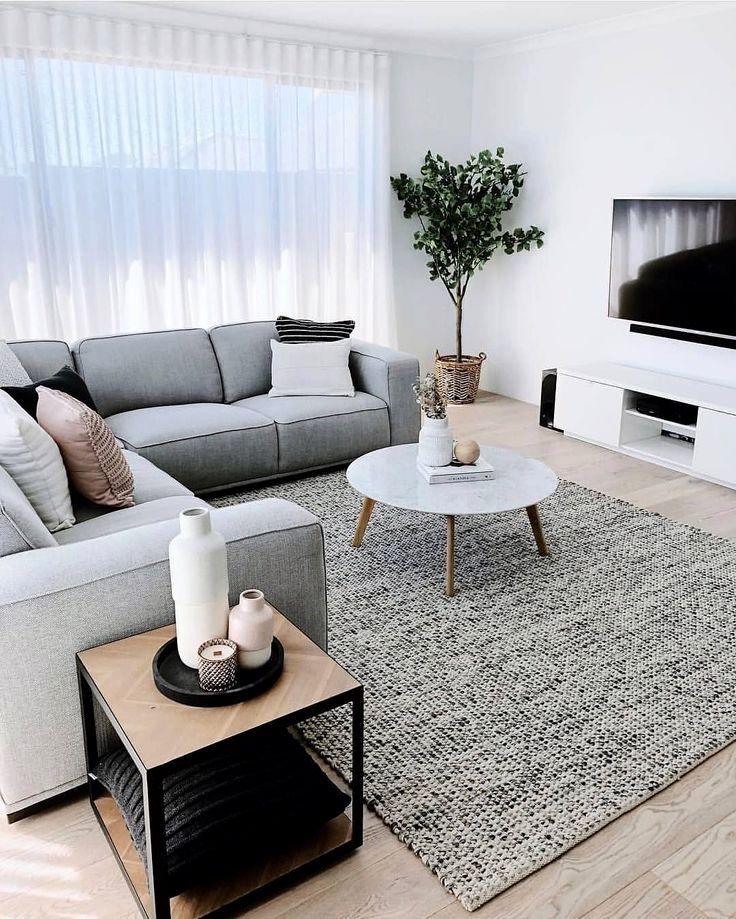 Idees De Couleurs De Salon Gris Livingroom Colors Homedec