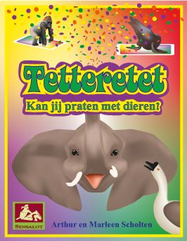 The front image of our game Tetteretet. Collect 3 identical images using animal voices.