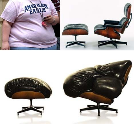 Fat Eames Chair