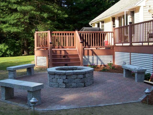 71 best decks/patios/firepits!!!! images on pinterest | patio ... - Deck Patio Ideas