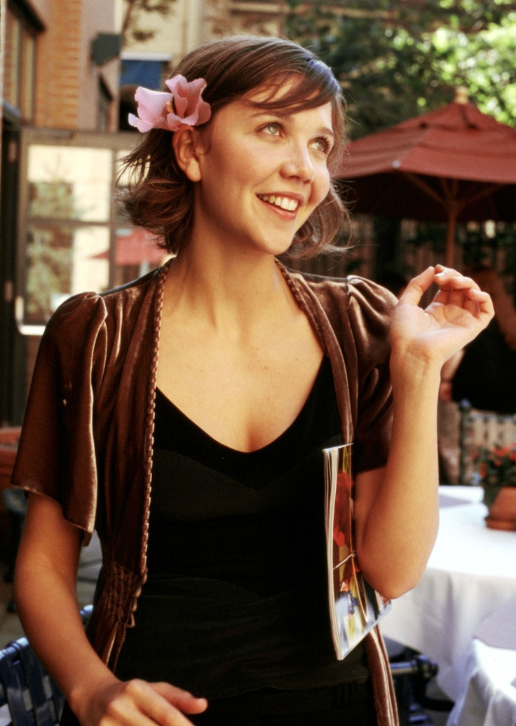 Maggie Gyllenhaal. Adorable and genuine.