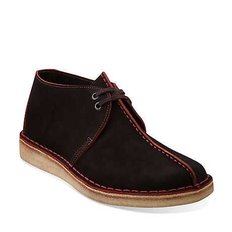 Desert Trek in Brown Suede - Mens Shoes from Clarks
