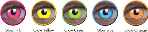 ColorVue Glow contact lenses are quite popular due to their great design and wonderful colors. Apart from Europe they are now in Europe and you will find Glow and Halloween Contact Lenses in selected retailers and optometrists stores.For more Informa