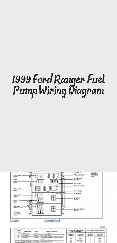 1999 Ford Ranger Fuel Pump Wiring Diagram # ...