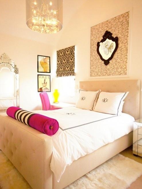Monogrammed Bedroom