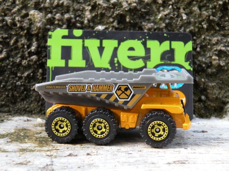 mashengky: place your message with my mining truck for $5, on fiverr.com