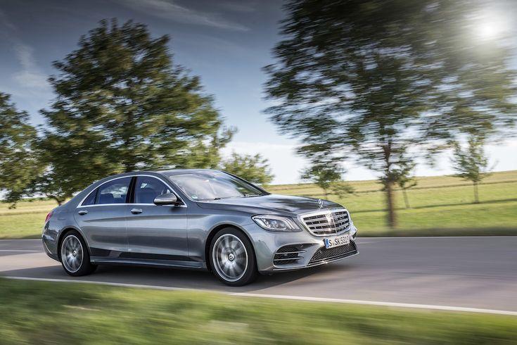 Alltid i strålkastarljuset bakom ratten på Mercedes-Benz S 500.