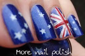 australia day nails - Google Search