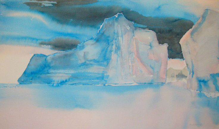 Beautiful water-colour from the norwegian contemporary artist Berit Bjørseth. To see more and order, go to http://artbyhand.no/butikk/billedkunst/berit-bjorseth