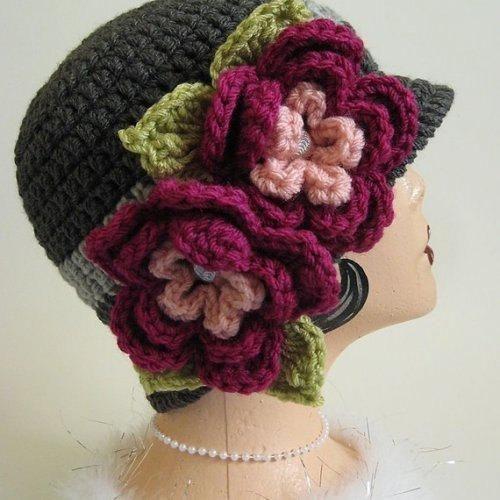 Vintage style cloche flapper hat... Fabulous!!