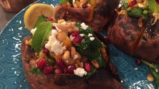 James' Moroccan Sweet Potatoes