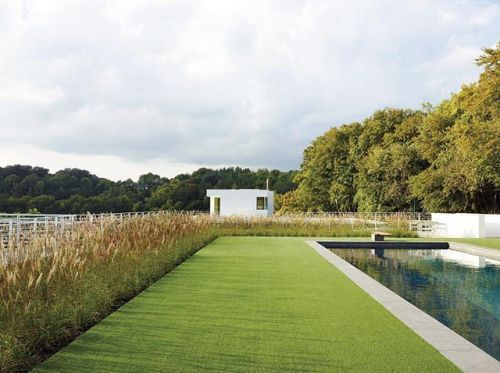 In An Oxfordshire England Home Designed By @richardmeierpartners Even The  Pool Pavilion Stays True To