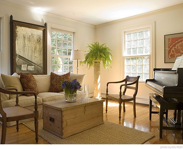 Formal living room ideas with piano for How much space does a baby grand piano need