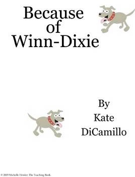 an analysis of the novel because of winn dixie by kate dicamillo Kate dicamillo's voice in because of winn-dixie should carry from the steamy, sultry pockets of florida clear across the miles to enchant young readers everywhere the summer opal and her father, the preacher, move to naomi, florida, opal goes into the winn-dixie supermarket--and comes out with a dog.