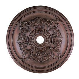 Livex Lighting 40.5-In X 40.5-In Polyurethane Ceiling Medallion 821158
