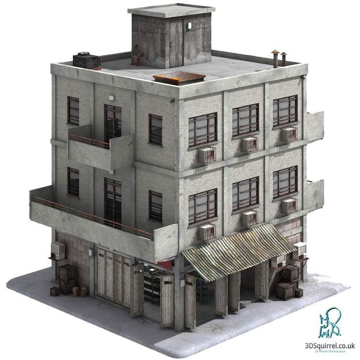A 3D Model of a building designed in the style of a Middle Eastern Town or City in a country such as Iraq, Syria, Afghanistan etc. Modelled to the highest standards for real-time game levels or visualisations built to a quota of just 9224 polygons including all the props. Available for sale in 3D Squirrel's Marketplace here: http://www.3dsquirrel.co.uk/forums/files/file/10-city-store/