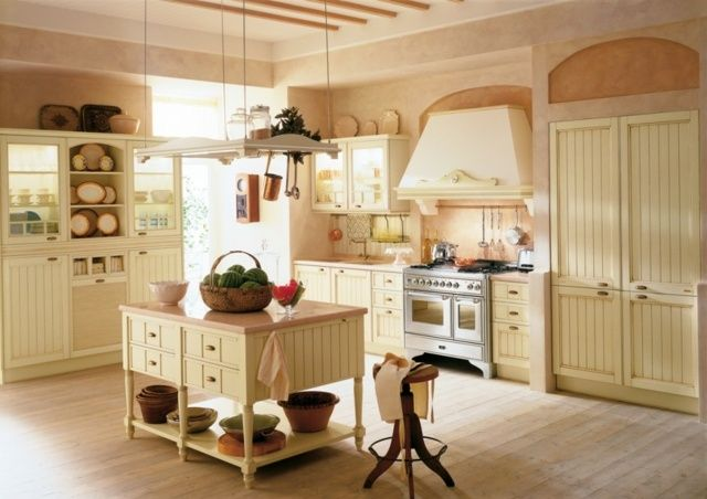 Landhausküchen französisch  Moderne Küchen G Form | ambiznes.com