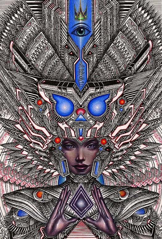 ~psychonaut~  Erik Siador for Thinkspace at the LA Art Show.