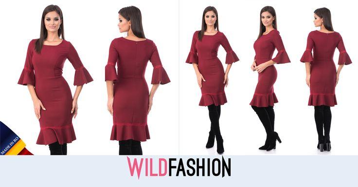 Daca vrei sa iti pui corpul in evidenta, o rochie ca aceasta este perfecta!