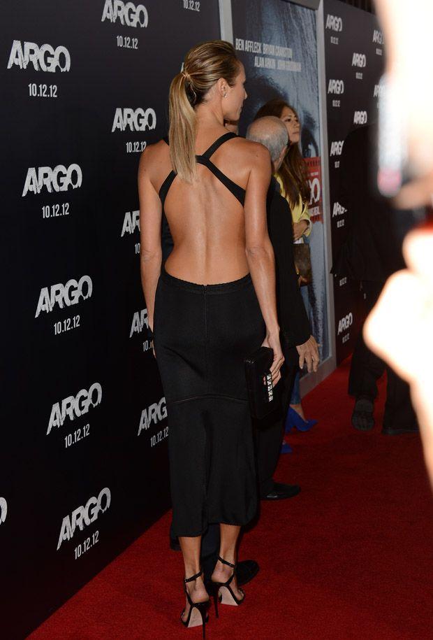 Stacy Keibler In Azzedine Alaia – 'Argo' LA Premiere