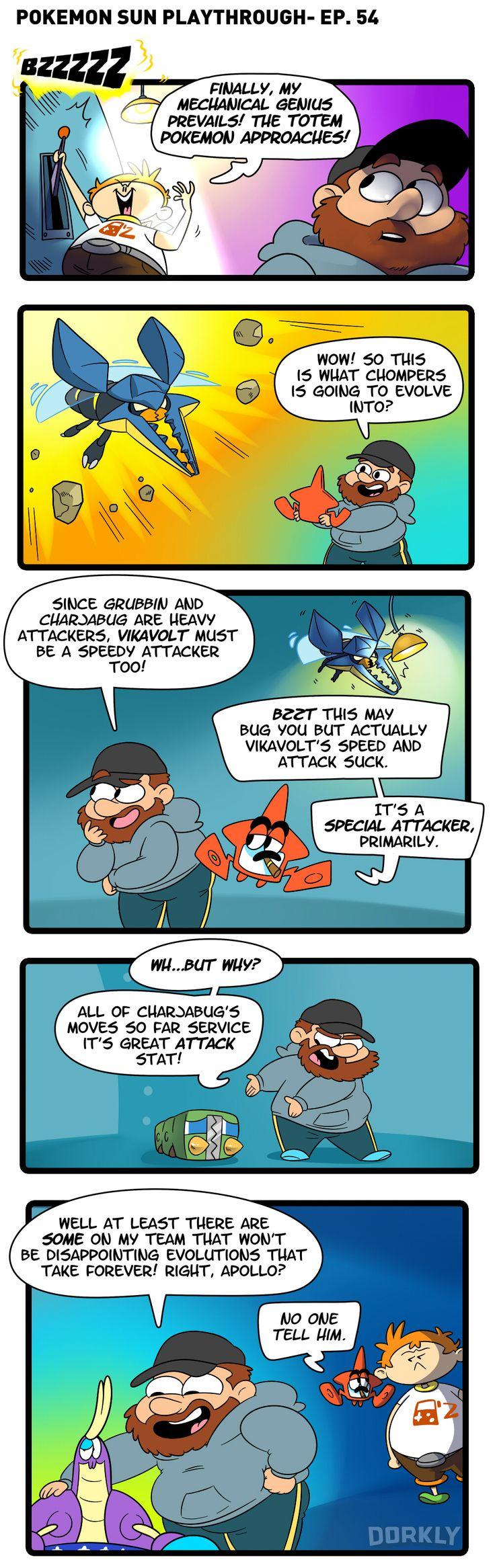 Pokemon Sun Episode 54: Disappointing Evolutions (OC)