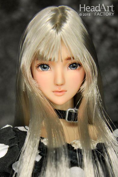 [Head Art Factory] 1/6 custom head -AW-438 / Cool Girl