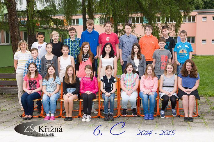 Společná fotografie třídního kolektivu 15x23 cm