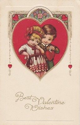 Valentineu0027s Day Is Pretty Card Couple Romance Valentine Postcard