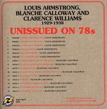 Unissued on 78s: Louis Armstrong, Blanche Calloway and Clarence Williams 1929-1938 [CD]