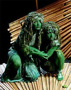 Woolpit e la storia dei bambini verdi. | InAsherah Art
